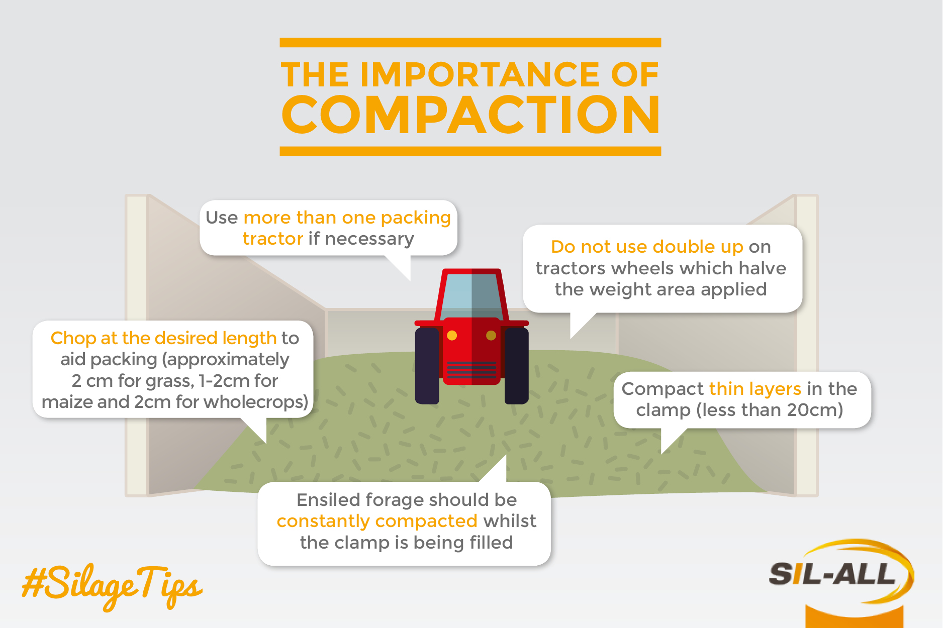 Tips for creating quality silage @Packing