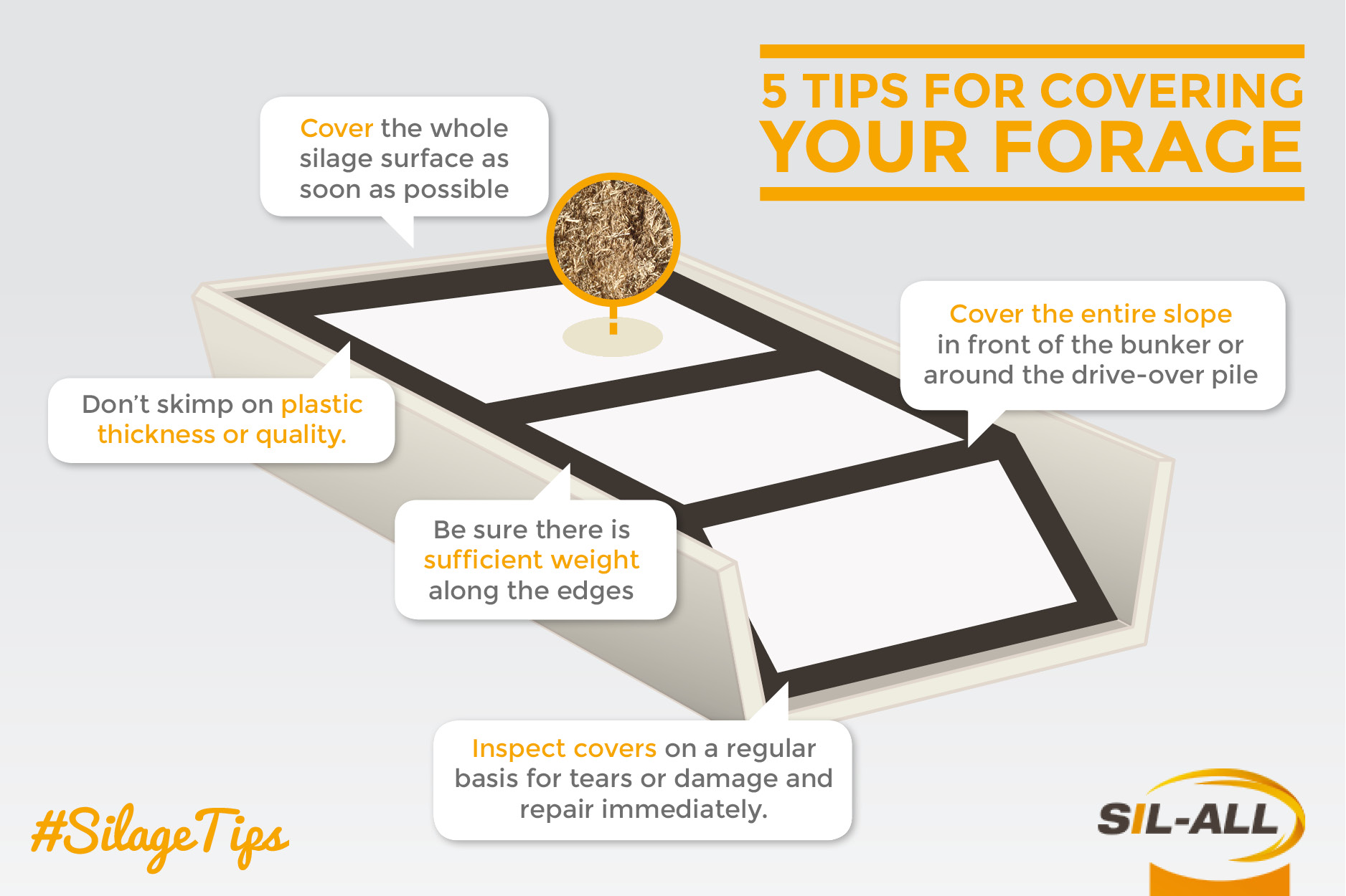 5 Tips for Covering Silage